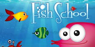 Fish School by Duck Duck Duck Moose une música sofisticada y arte con un ambiente creativo e imaginativo para crear una atmósfera para que los niños pequeños aprendan con alegría. Las actividades que refuerzan el reconocimiento de letras, números, formas y colores fluyen a la perfección en el oasis acuático de Fish School. Los juegos desafían a los niños a mirar cuidadosamente para hacer coincidencias e identificar diferencias dentro de los bancos de peces. FIsh School es una aplicación divertida que integra los conceptos del aprendizaje temprano en un ambiente hermoso y lúdico.
